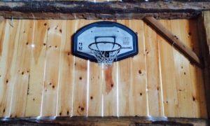 Basketball in the Barn