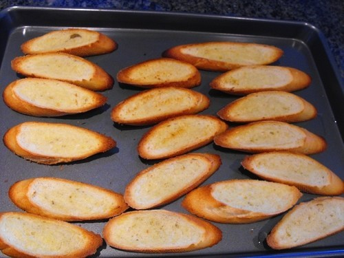 Summery Crostini and Dreams of Warmer Days