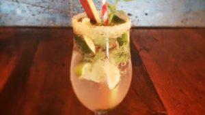 Summer Rhubarb Mojito