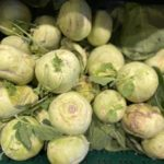 Winter side dishes – the humble Kohlrabi