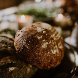 Einkorn and Wheat Sourdough Bread