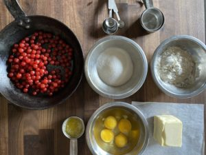 Clafoutis – or things to do with currants!