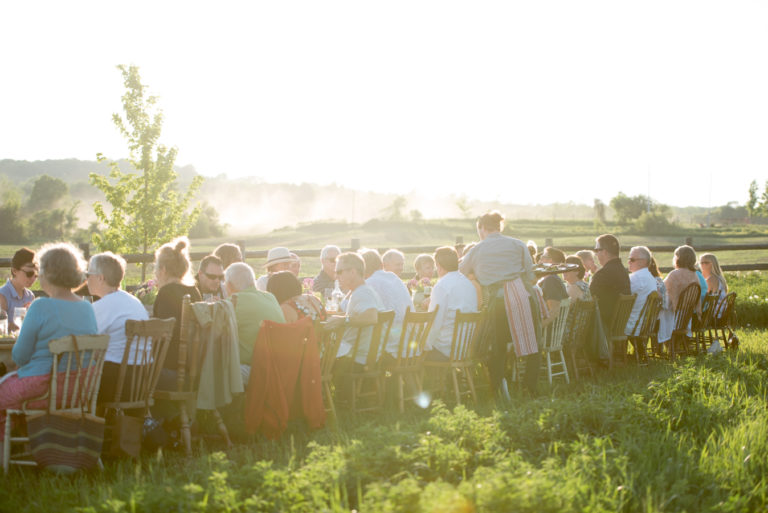 Full Moon Supper Outdoor Dining South Pond Farms Experiences